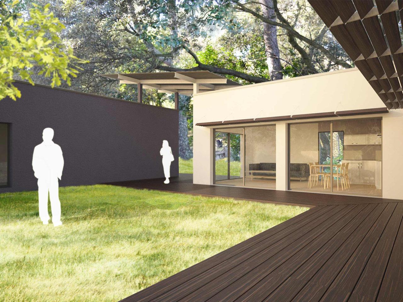Maison Agulhon T | Agence d'architecture Brayer-Hugon à Nîmes