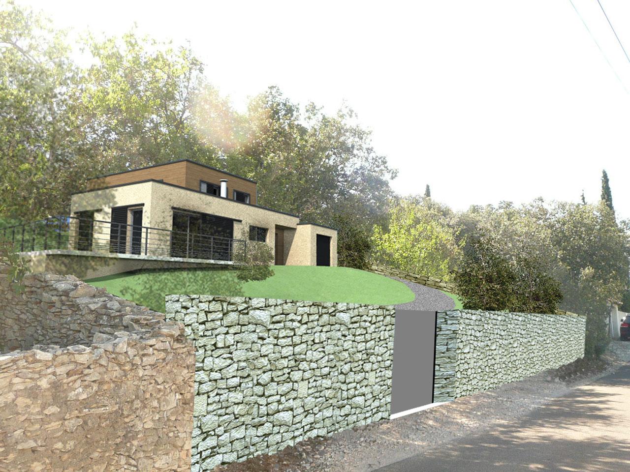 Maison J. | Construction neuve - Agence d'architecture Brayer-Hugon