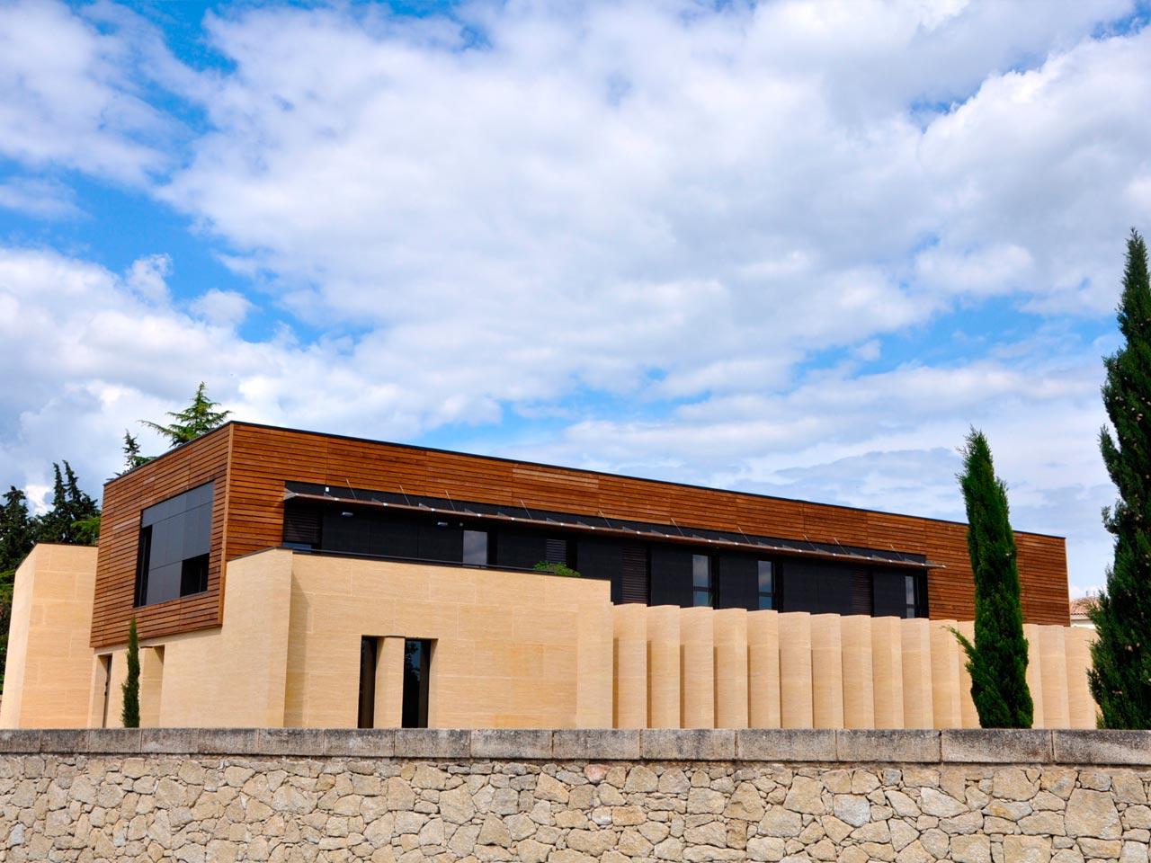 Extension de l'hôpital d'Uzès par l'agence d'Architecture Brayer-Hugon