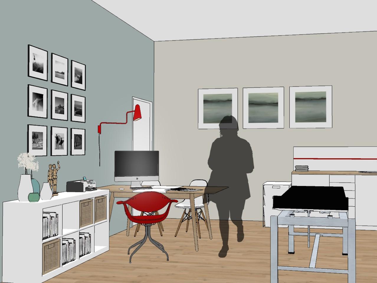 Cabinet médical rénové par l'agence d'Architecture Brayer-Hugon à Nîmes