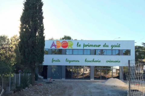 Ador Fruits – Création d'un magasin