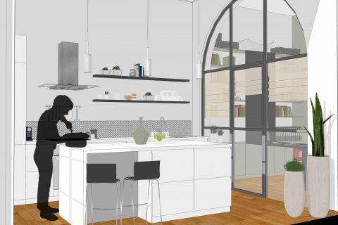 Appartement S – Réaménagement et rénovation