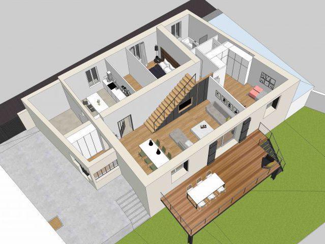 Agence d'architecture Brayer-Hugon nos réalisations à Nîmes Occitanie
